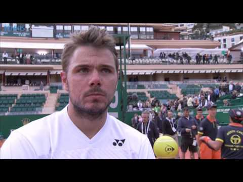 Monte-Carlo 2014 Final Interview Wawrinka