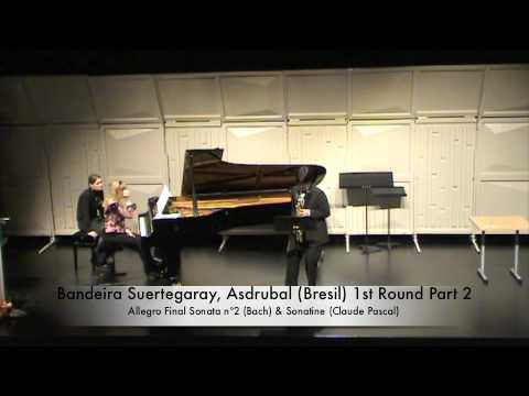 Bandeira Suertegaray, Asdrubal (Bresil) 1st Round Part 2