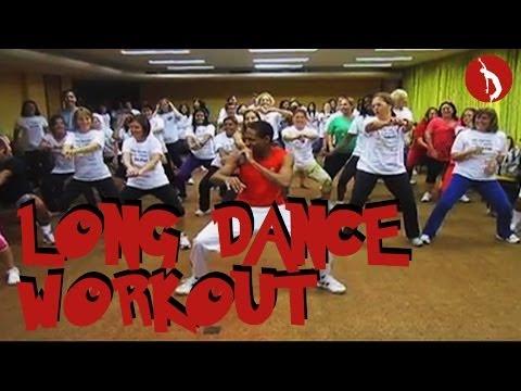 Fun Dance Fitness Workout Part 1 - Rio de Janeiro, Brazil - Samba Funk Axe Merengue Reggaeton Salsa