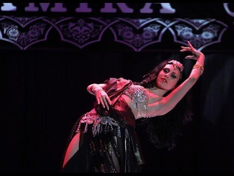 Sexy vintage oriental belly dance by Amira Abdi