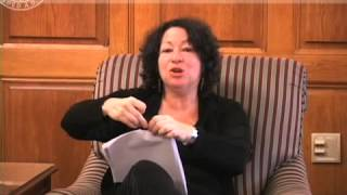 Sonya Sotomayor Visits Cornell Law School