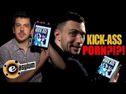 KICK-ASS 2 STAR & 'McLOVIN' Discover there's a 'KICK-ASS' PORN PARODY (UNCENSORED)