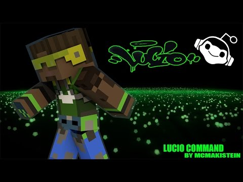 [Review] Minecraft Command Block Lucio Overwatch ผมนี้ Drop The Beat เลย