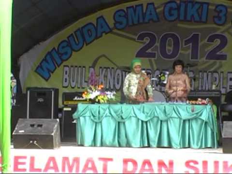 SMA GIKI3 Surabaya WISUDA Siswa kelas XII 2011-2012