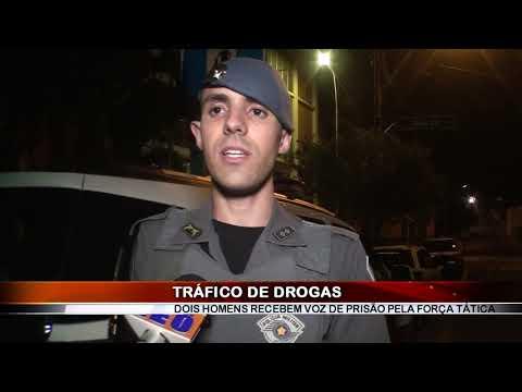 18/05/2019 - Dois são presos com drogas e celular furtado nos Predinhos em Barretos