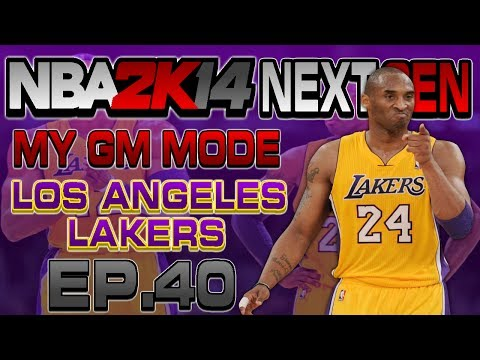 NBA 2K14 Next Gen My GM Mode Ep.40 - Los Angeles Lakers | TRADE | LEBRON IN FREE AGENCY | Xbox One