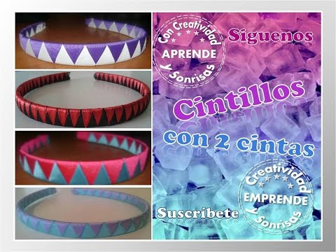 CINTILLO 2 CINTAS CREATIVIDAD & SONRISAS - YouTube