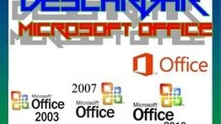 Descargar Microsoft Office 2003/2007/2010 Y 2013 En 1 Link