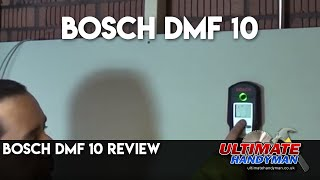 bosch dmf 10 digital detector review