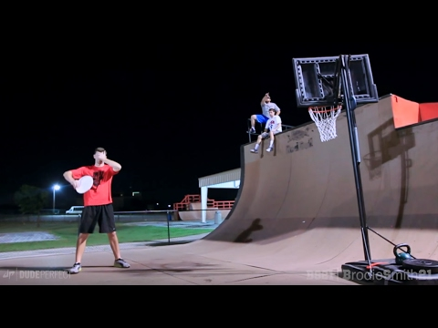 Epic Trick Shot Battle 2 | Brodie Smith vs. Dude Perfect