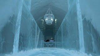 فندق من الجليد في السويد