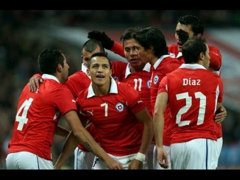 Чили - Северная ирландия 2:0 Chile vs Northern Ireland 2014