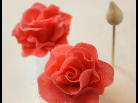 Rosen Tutorial/ Gumpaste Rose