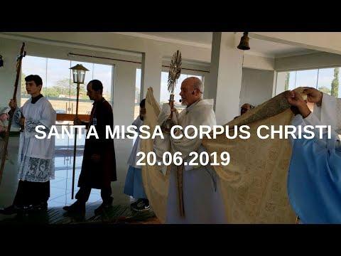 Santa Missa Corpus Christi | 20.06.2019 | Padre José Sometti | ANSPAZ