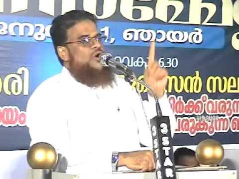 ZAKARIYA SWALAHI JINNINOD PRARTIKKAM ENNU PARANJITTILLA - Husain Salafi