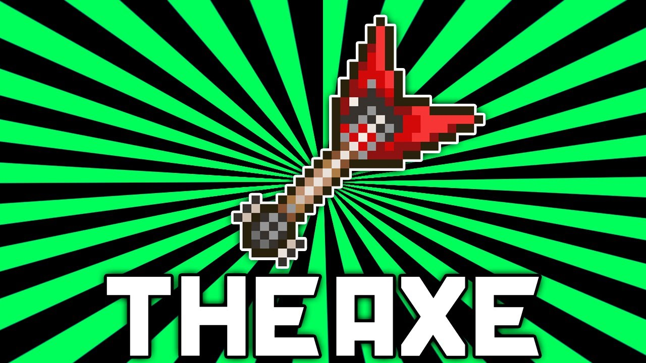 how to make an axe in terraria