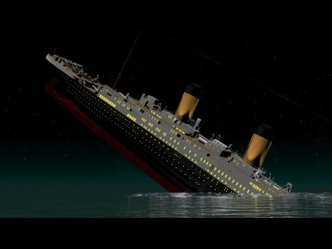NEW and IMPROVED! - Titanic - Death of Titan - T.H.Cooney Art