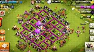 Village Clash Of Clans HDV 7