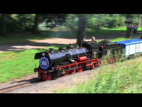 Parkeisenbahn Leipzig - Dampflok - Steam Train - Zug