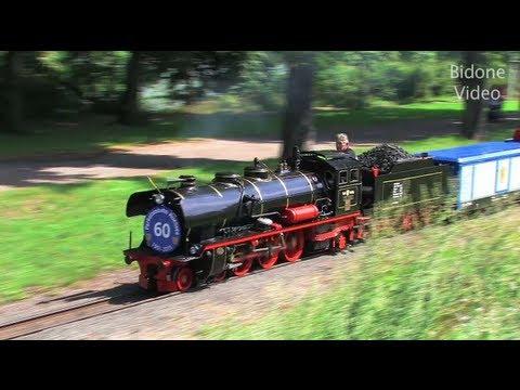 Parkeisenbahn Leipzig - Dampflok - Steam Train - Zug