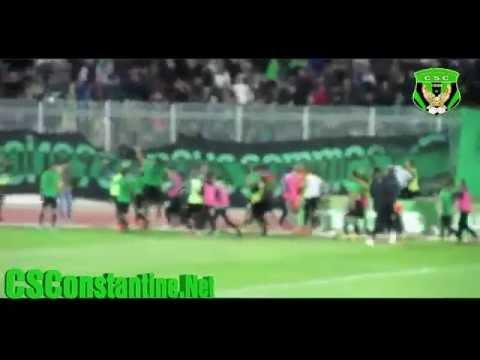 Coupe d'Algérie CSC 2 - MCA 1 : Ambiance au stade + Tifos (2)