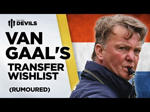 Van Gaal's Top Transfer Targets? | Manchester United Transfer News