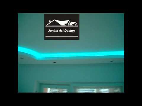 Forme rigips,modele gips carton scafe lumini personalizate..
