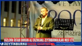 Adliye Meydanı Dursun Ali Erzincanlı Konseriyle Dolup Taştı