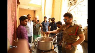 naara-rohith-cooks-fish-curry-on-the-sets-of-shamanthakamani-movie