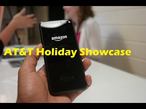 AT&T Holiday Showcase: Amazon Fire Phone