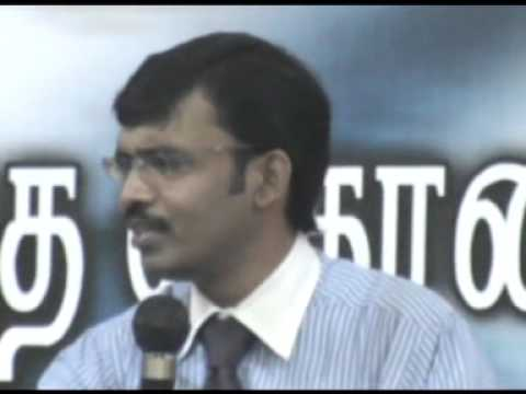 Tamil Inspirational Bible Verses - Encourage Message  By Pastor Clement Sridhar