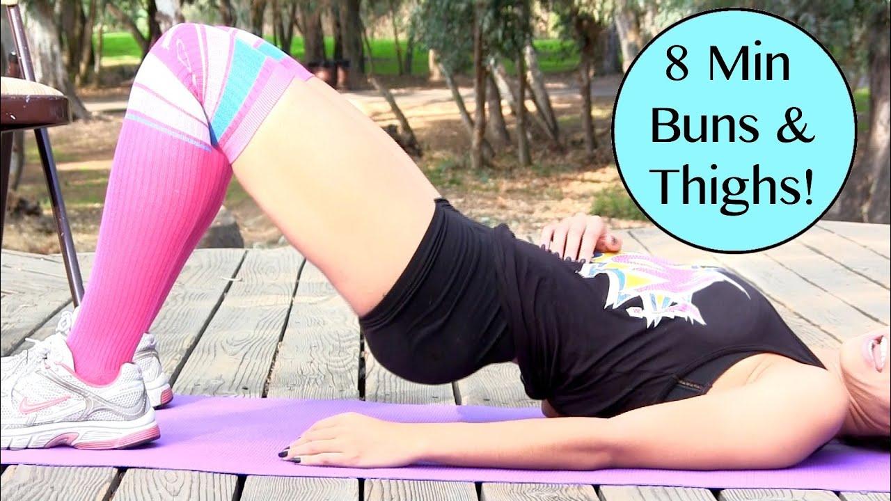 15-Minute Lean Leg Workout - YouTube