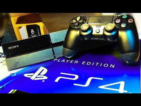PS4 Unboxing SPECIAL PLAYER EDITION!