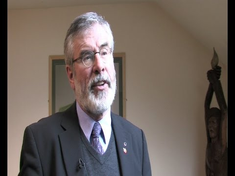Gerry Adams welcomes ETA peace initiative