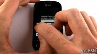 Unlock LG P350 Optimus ME Via IMEI How-To Guide