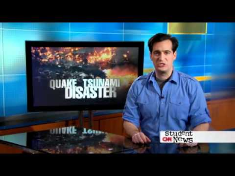 Japan Earthquake and Tsunami, by CNN Student News special edition