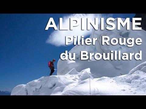 8666_Part 1. Pilier Rouge du Brouillard Mont-Blanc voie Walter Bonatti Andrea Oggioni