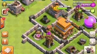 [17] Let's Play Clash Of Clans Episode 17 TH4: How To