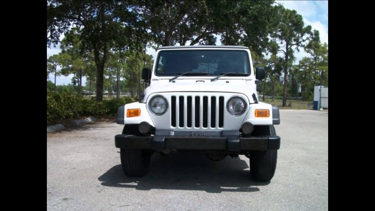2005 jeep wrangler for sale cheap white right hand drive youtube. Black Bedroom Furniture Sets. Home Design Ideas