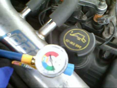 How To Recharge The Ac 2002 Ford Mustang Youtube