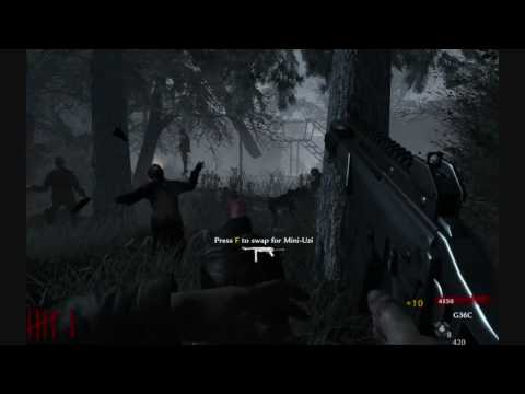 Call of Duty Nazi Zombies After War Modern Weapon