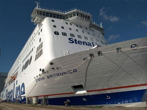 Worlds Largest Ferry - Stena Britannica