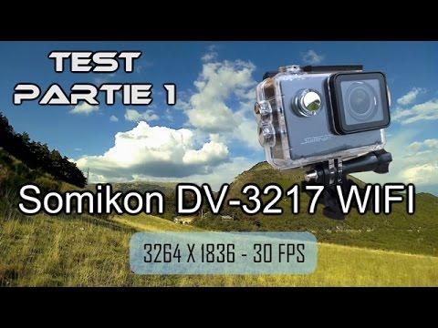 Test caméra sport Somikon DV-3217.wifi : 1/3