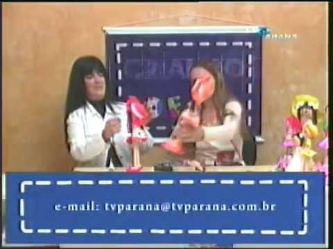 Bonecas em E.V.A 3D com Marlene Gomes - Parte 3