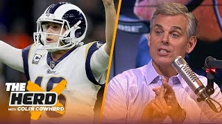Colin Cowherd plays the 3-Word Game after NFL Conference Championship games   NFL   THE HERD