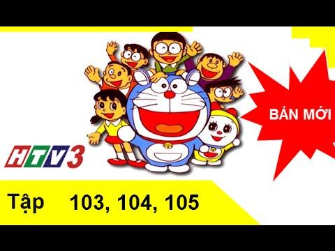 Phim hoạt hình Doremon Tiếng Việt lồng tiếng tập 103,104,105 HTV3