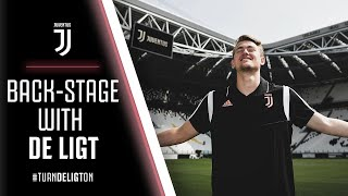 BACK-STAGE WITH DE LIGT | Matthijs de Ligt is welcomed to the Juventus family!