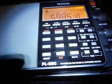 5985kHz Myanmar Radio English - Japanese pops on air (15:30UTC, May 02, 2014)