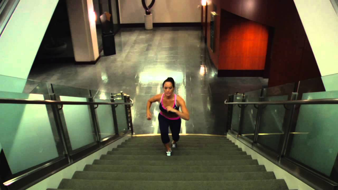Climbing Stairs for a Flat Stomach : Getting in Great ...