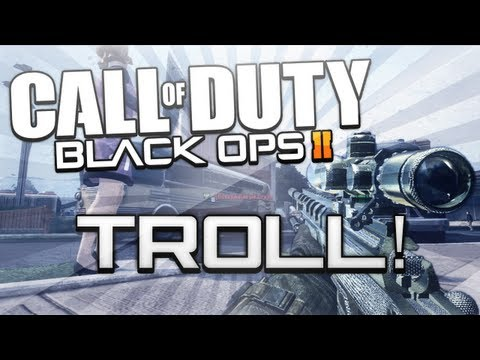 Black Ops 2 - MOVING MANNEQUIN GLITCH TROLL!